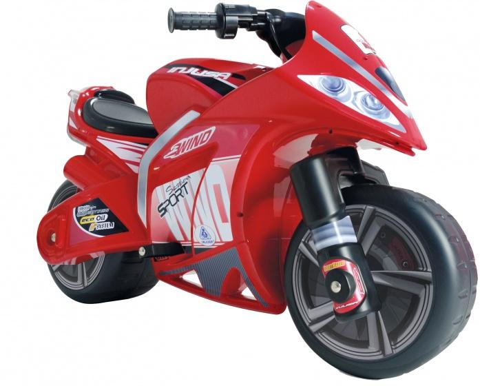 Injusa accuvoertuig motorbike Wind 6V 100 cm rood