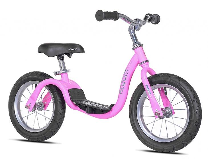 Kazam NEO v2s Balance Bike loopfiets 12 Inch Junior Roze