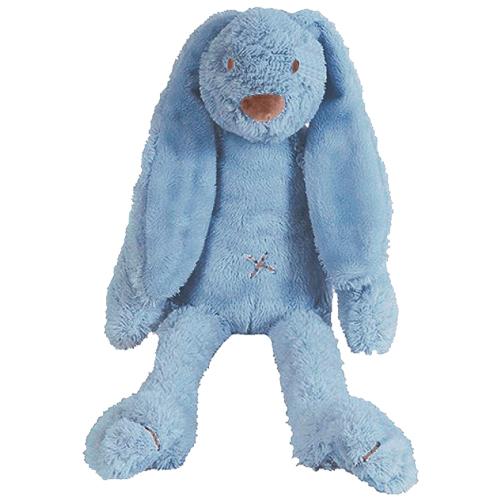 Knuffel konijn Richie blue