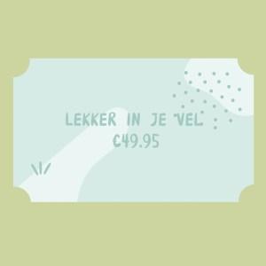 Lekker in je Festivel tickets