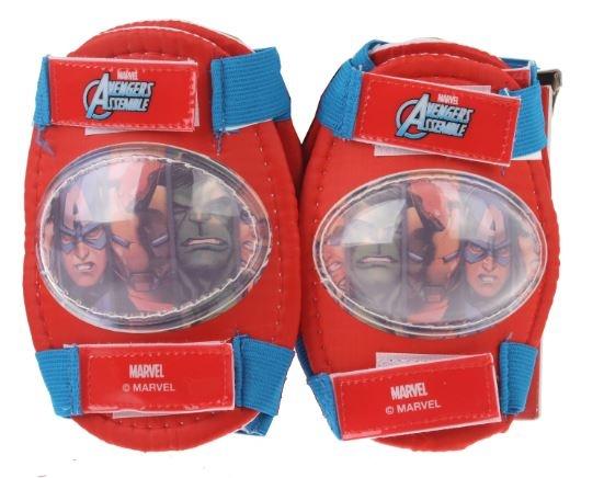 Marvel Elleboog- en kniebeschermers Avengers rood/blauw