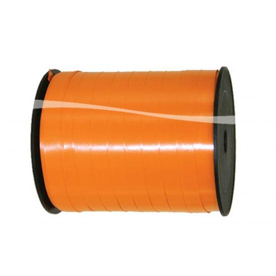 Cadeaulint/sierlint in de kleur oranje 5 mm x 500 meter