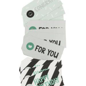 HEMA 12-pak Cadeau Labels