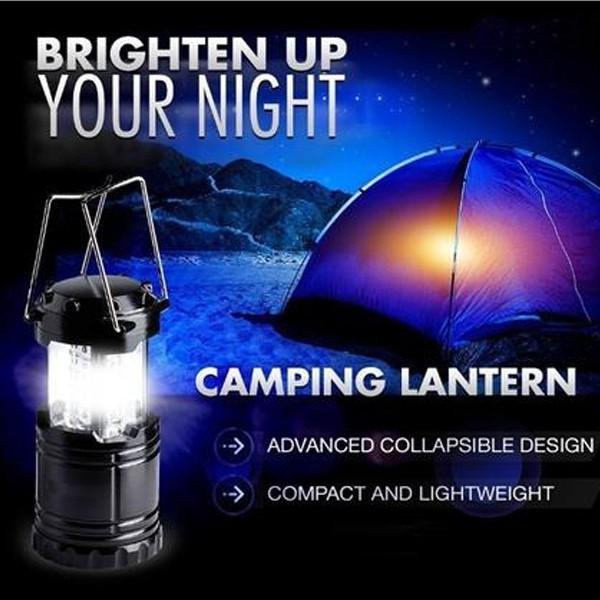 Multifunctional solar camping lamp