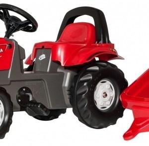 Rolly Toys traptractor RollyKid Valtra junior rood