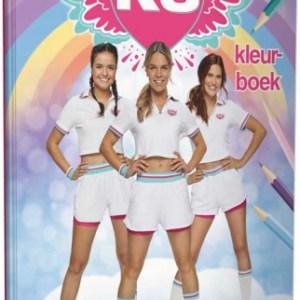 Studio 100 kleurboek K3 junior 30 x 21 cm papier
