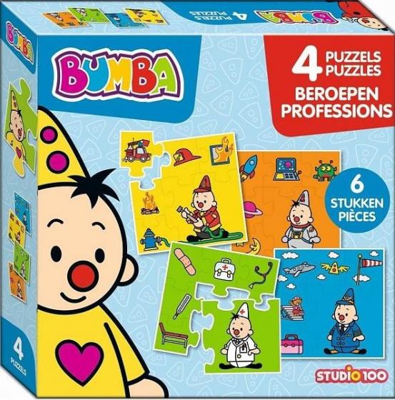 Studio 100 legpuzzel Bumba junior karton 24 stukjes
