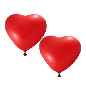 Pakje rode hartjes ballonnen