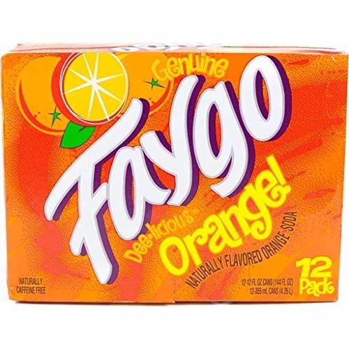 Faygo Faygo - Orange 355ml 12 Blikjes