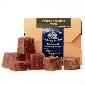Devon Cottage Organic Fudge Chocolade fudge - Bio