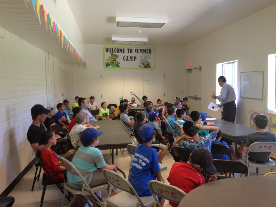 Rabbi Gordon visits CSC