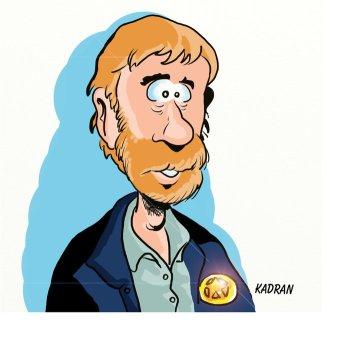 Chuck Norris caricature