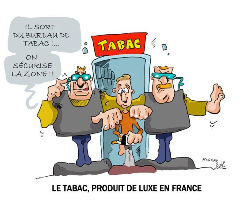 Hausse du prix du tabac en France
