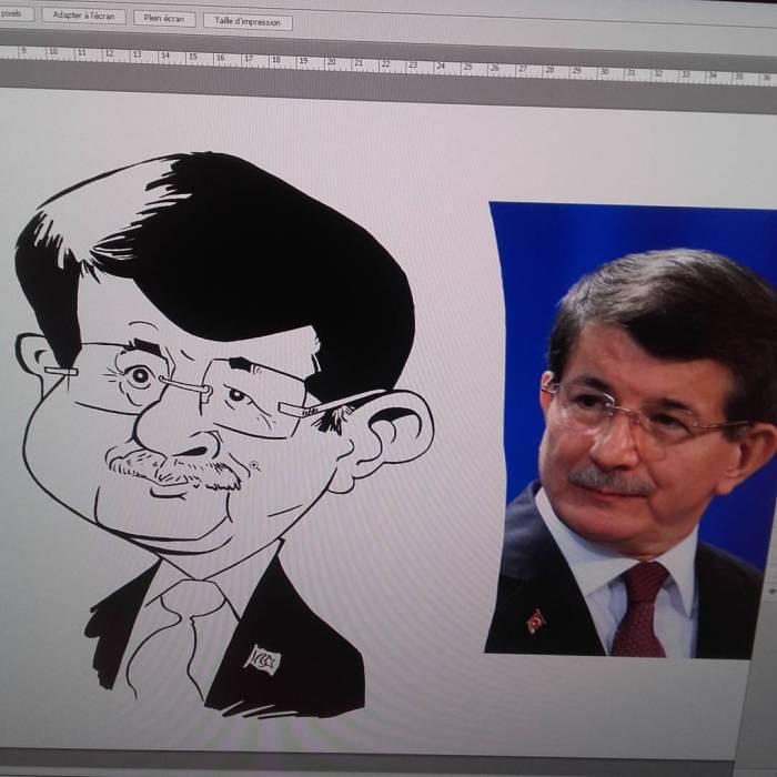 Ahmet-Davutoglu-caricature 02