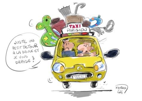 """""""Votre auto, outil personnel et/ou professionnel"""", L'Echo du Taxi N°1"""