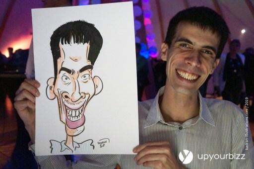 Noël en caricatures pour Upyourbizz