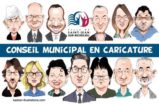 Conseil municipal de Saint-Jean-sur-Richelieu (Québec)