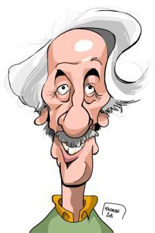 Jean Rochefort caricature