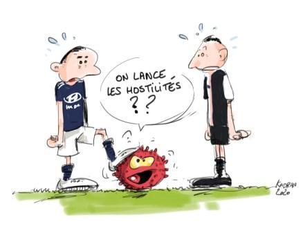 Le match de football OL-Juventus maintenu malgré les inquiétudes liées au coronavirus