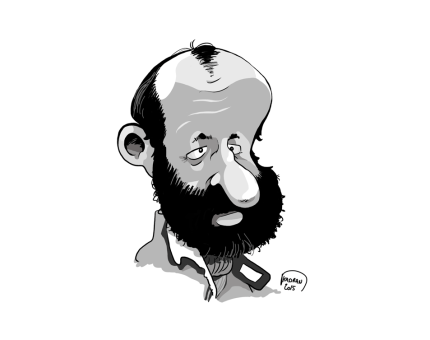 24h du Mans, Henri Pescarolo caricature