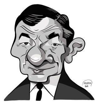 Robert Dalban caricature, Tonton flingueur