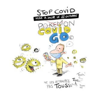 STOP COVID, mise à jour le 22 octobre 2020