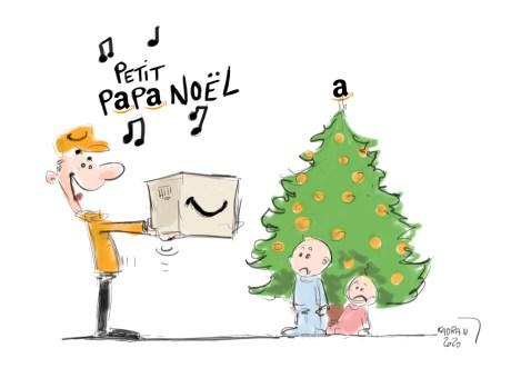 Petit PAPAmazon Noël !