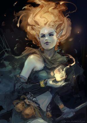 wood sorceress