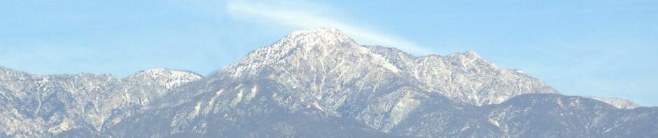 Mt Baldy Winter Morning