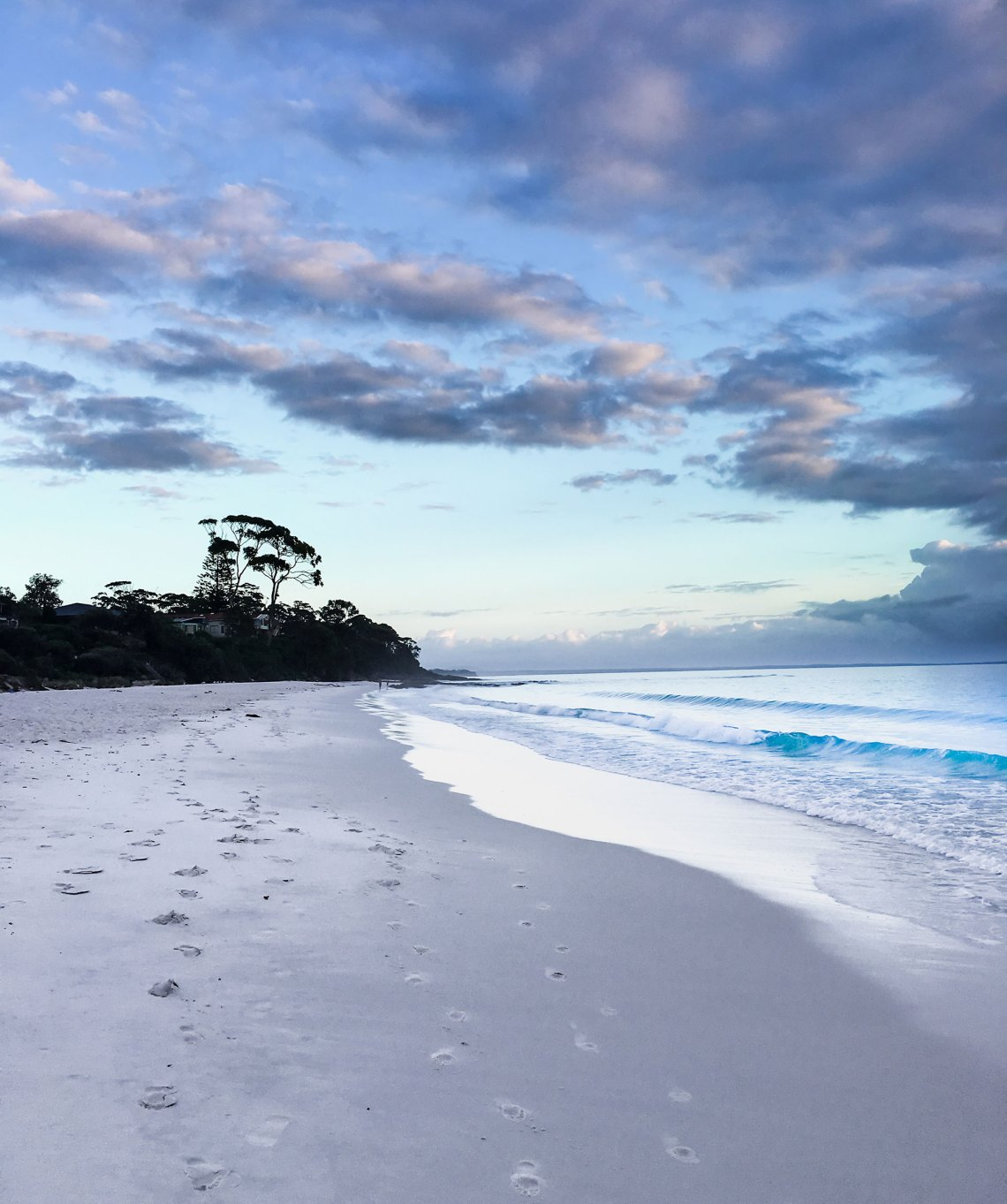 Hyams Beach at Sunrise