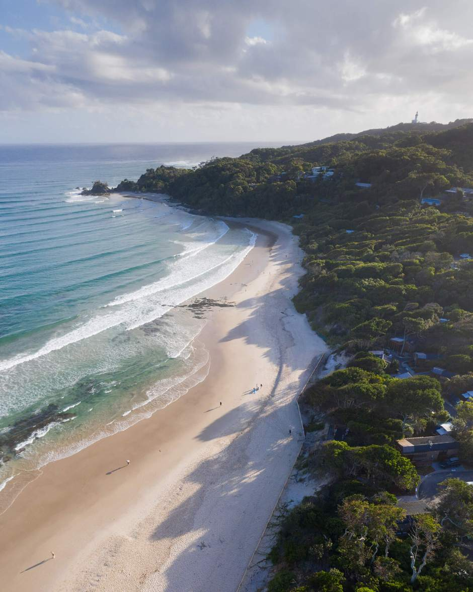Aerial Of Reflections Clarkes Beach