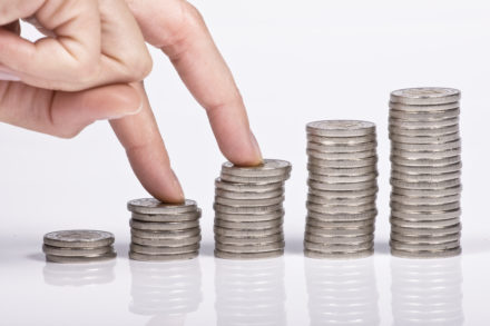 Increase Wealth With Certainty - Coin Piles