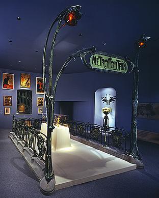 Guimard Entrance to the Metropolitain 1898
