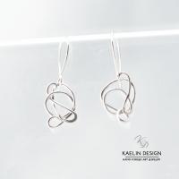 Whimsy Handmade Silver Earrings