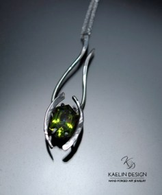 Celadon Custom Pendant  by Kaelin Design