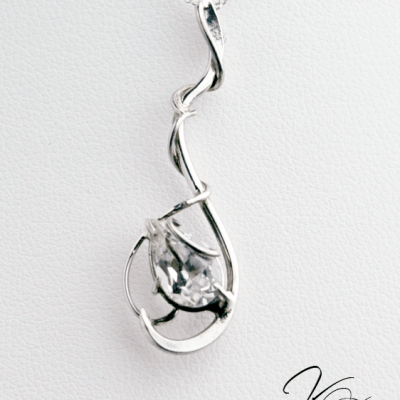 Sterling Silver and Topaz 'Mistral' by Kaelin Design