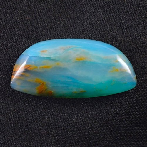 Blue Peruvian Opal by Stones In Motion