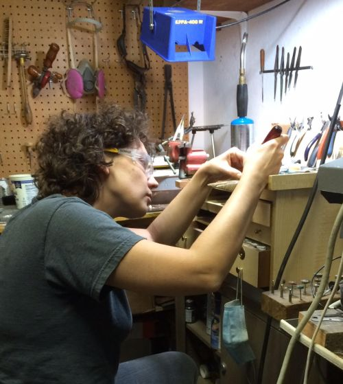 Kaelin Design at Work on Custom Jewelry