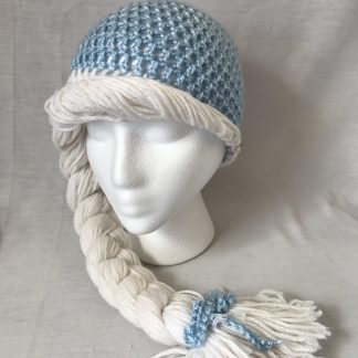 Elsa Princess Inspired Crochet Hat