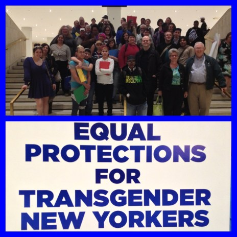 Lobbying for transgender civil rights - 2013