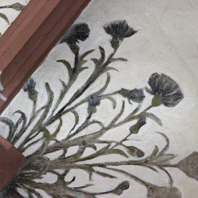 Blumenausmalungen