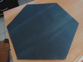 découper l'hexagone