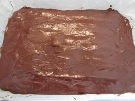 la couche de brownie