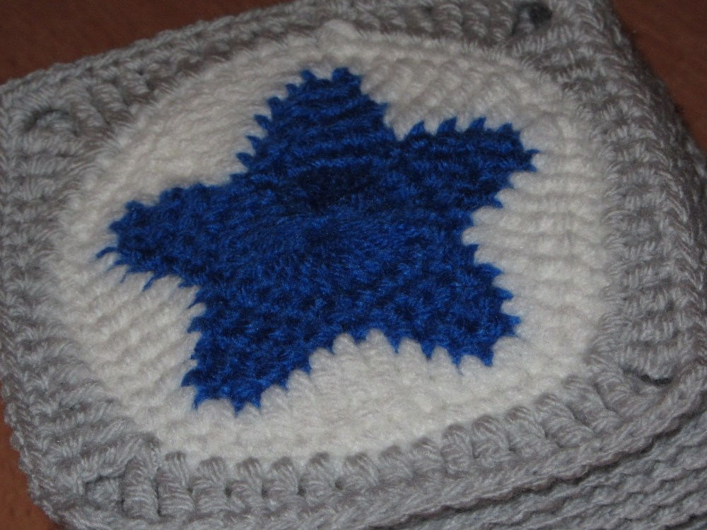 Couverture Etoiles / All star Baby Blanket (2/6)