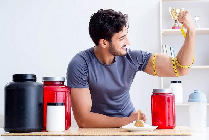 Muskelaufbau Supplements