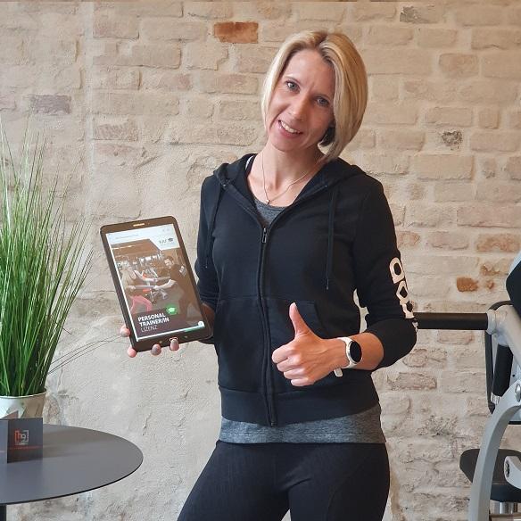 Fitnesstrainerin Jessica