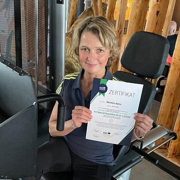Fitnesstrainer Martina