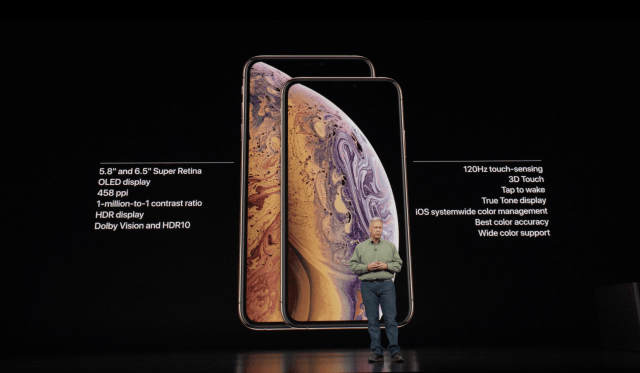 iPhone Xs และ iPhone Xs Max