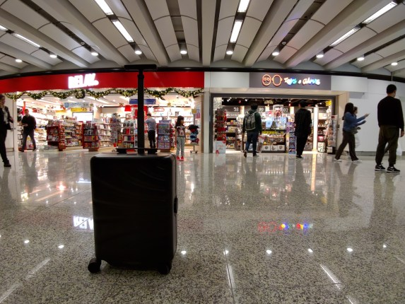 COWAROBOT R1 at Hong Kong International Airport Terminal 1