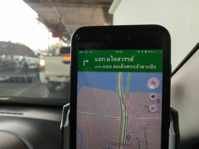 พอชาร์จแบบไร้สายได้ที่ 7.5W ปุ๊บ ก็สามารถชาร์จแบตเตอรี่ได้โอเค เพียงพอต่อการใช้งานเป็น GPS navigator และได้แบตเตอรี่เพิ่มด้วย